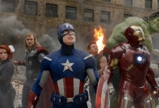 Il cast di The Avengers
