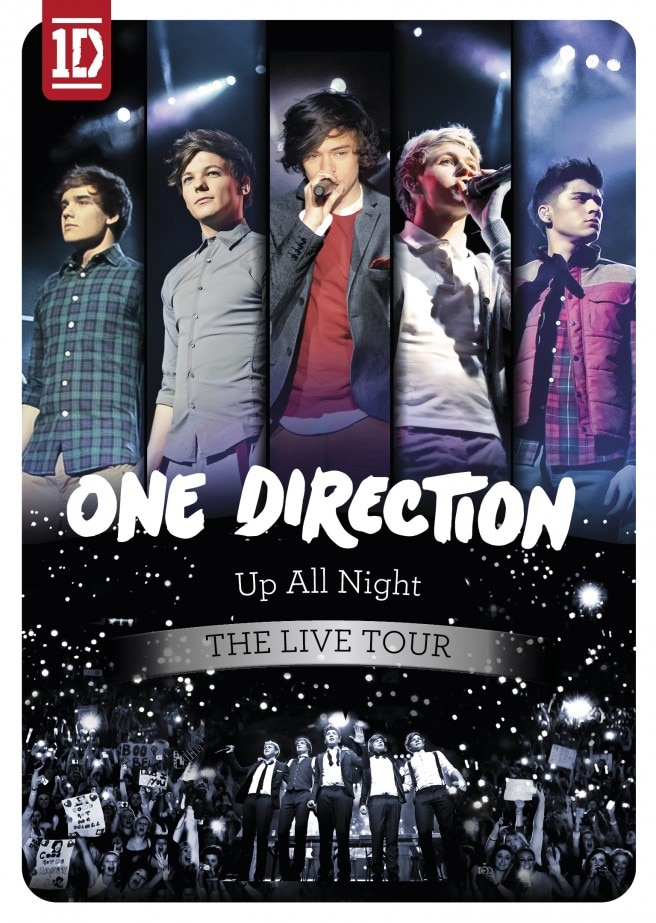 One Direction_cover_Live DVD