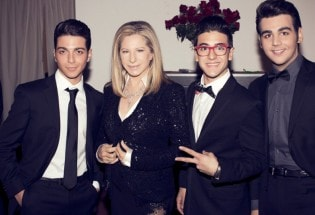 Il Volo con Barbra Streisand all'Hollywood Bowl