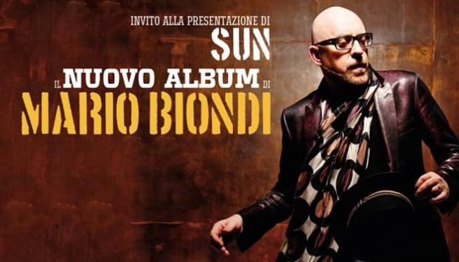 Mario Biondi presenta «Sun»