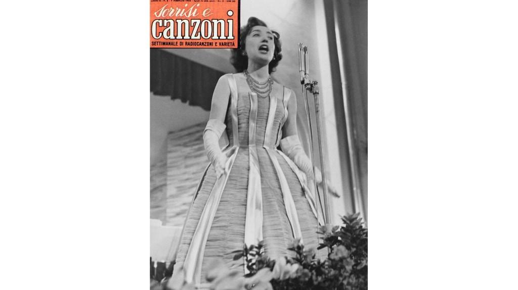 Festival di sanremo 1956 tv sorrisi e canzoni - Franca raimondi aprite le finestre testo ...