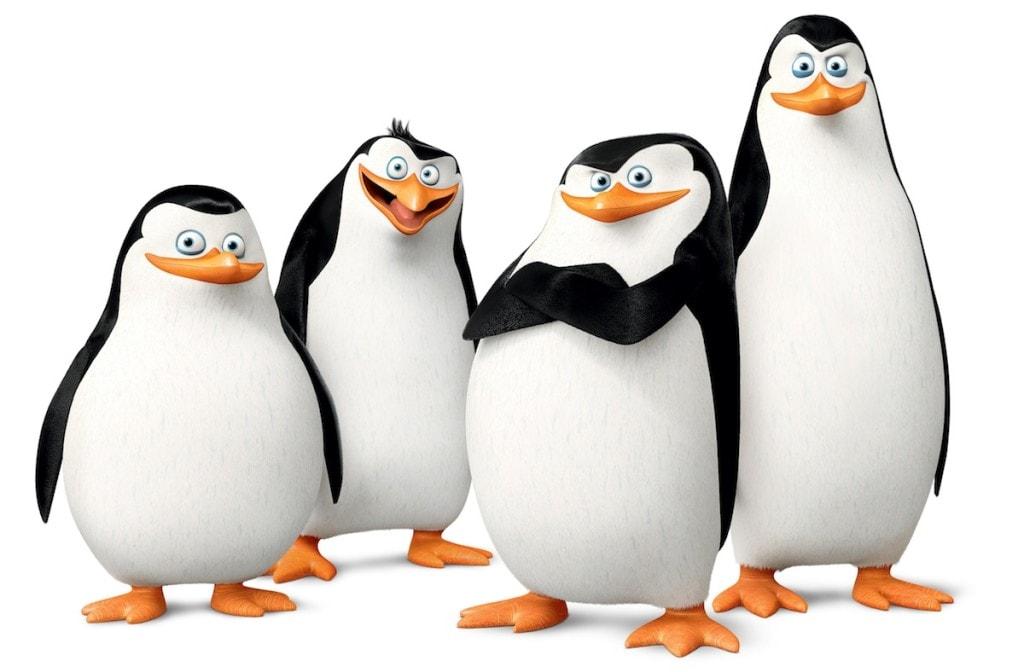 I pinguini di madagascar arrivano in edicola tv sorrisi - Pinguini di natale immagini ...