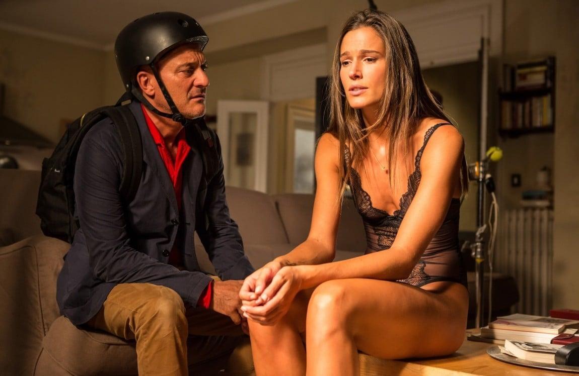 Claudio Bisio e Chiara Baschetti