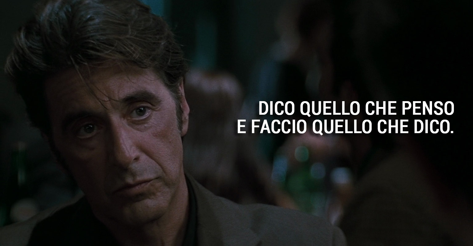 Al Pacino Per I Suoi 75 Anni Le 10 Frasi Più Belle Dei