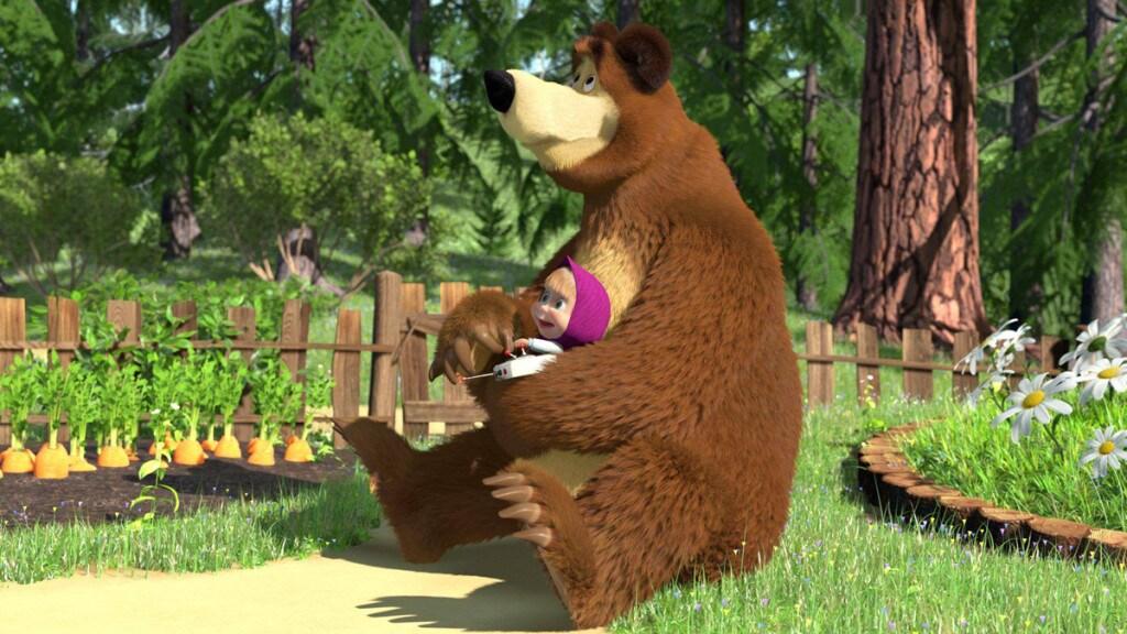 Masha e orso gli episodi del cartone reso famoso da