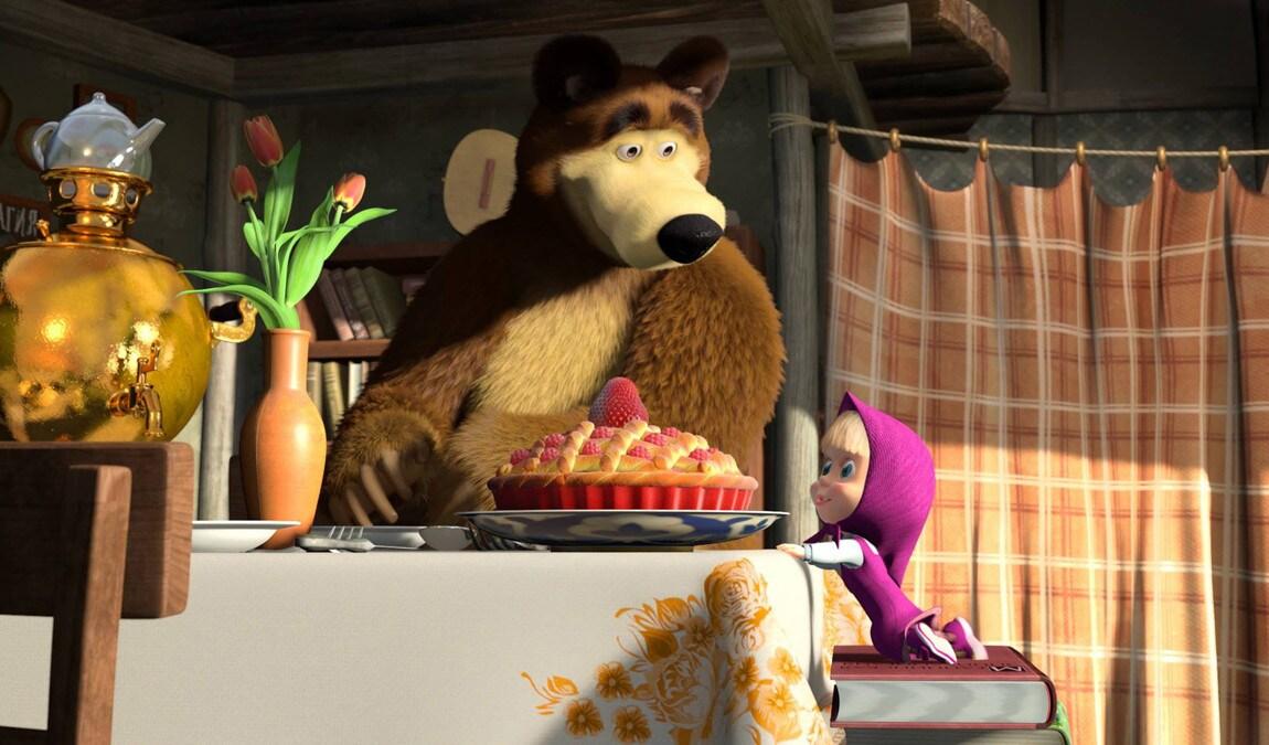 Masha e orso il cartone animato che sfida peppa pig tv
