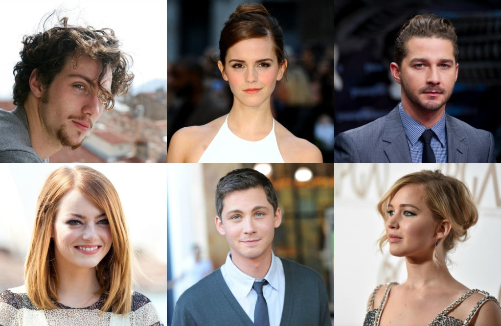 Nuove star di hollywood i 10 attori under 30 pi famosi for Nomi scrittori famosi