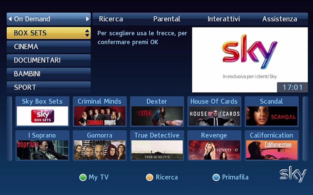 Come vedere Sky in due stanze diverse - ChimeraRevo