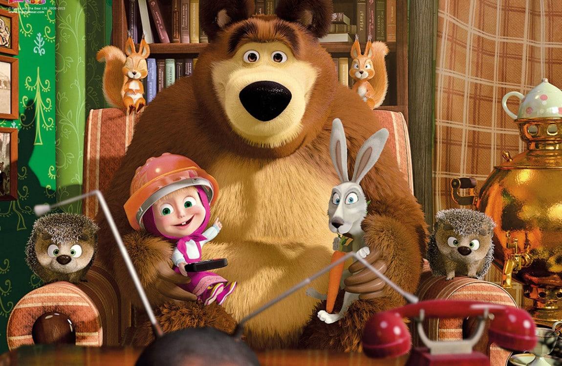 Masha e orso le nuove puntate arrivano su infinity tv
