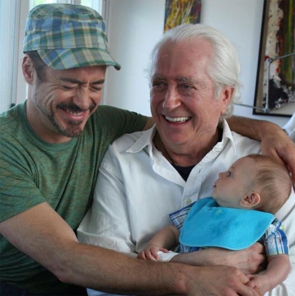 Robert Downey Sr: Festa Del Papà: Le Foto Più Tenere Delle Celebrità Con I