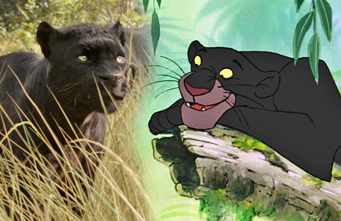 Il libro della giungla tutti i personaggi ieri e oggi