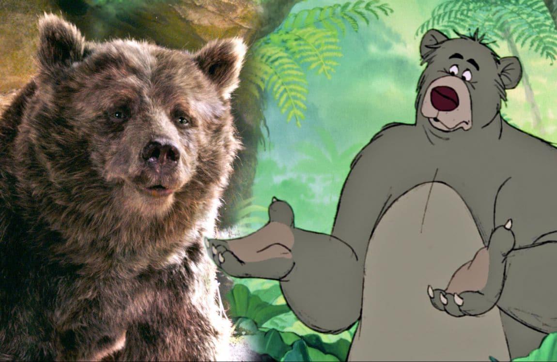 Il libro della giungla tutti i personaggi ieri e oggi for Affittare una cabina nel grande orso
