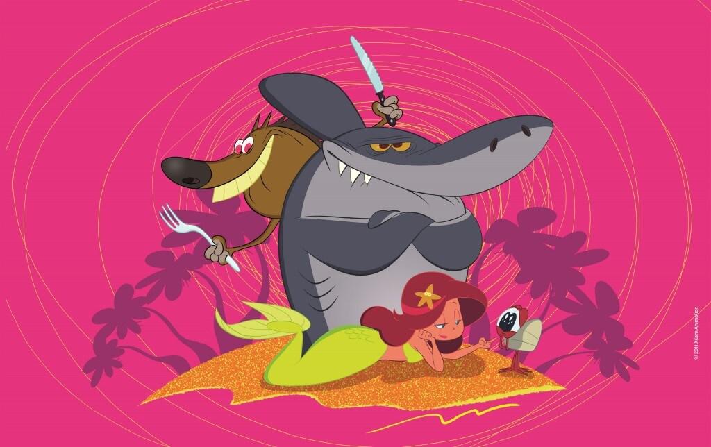 Zig e sharko su k torna la serie per bambini tv sorrisi e canzoni