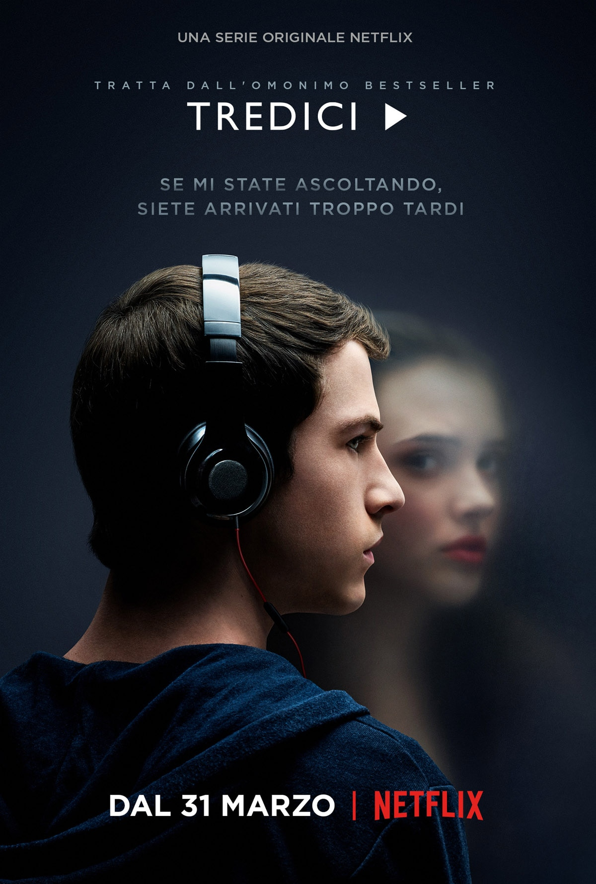 13 reasons why locandina 13 serie tv netflix