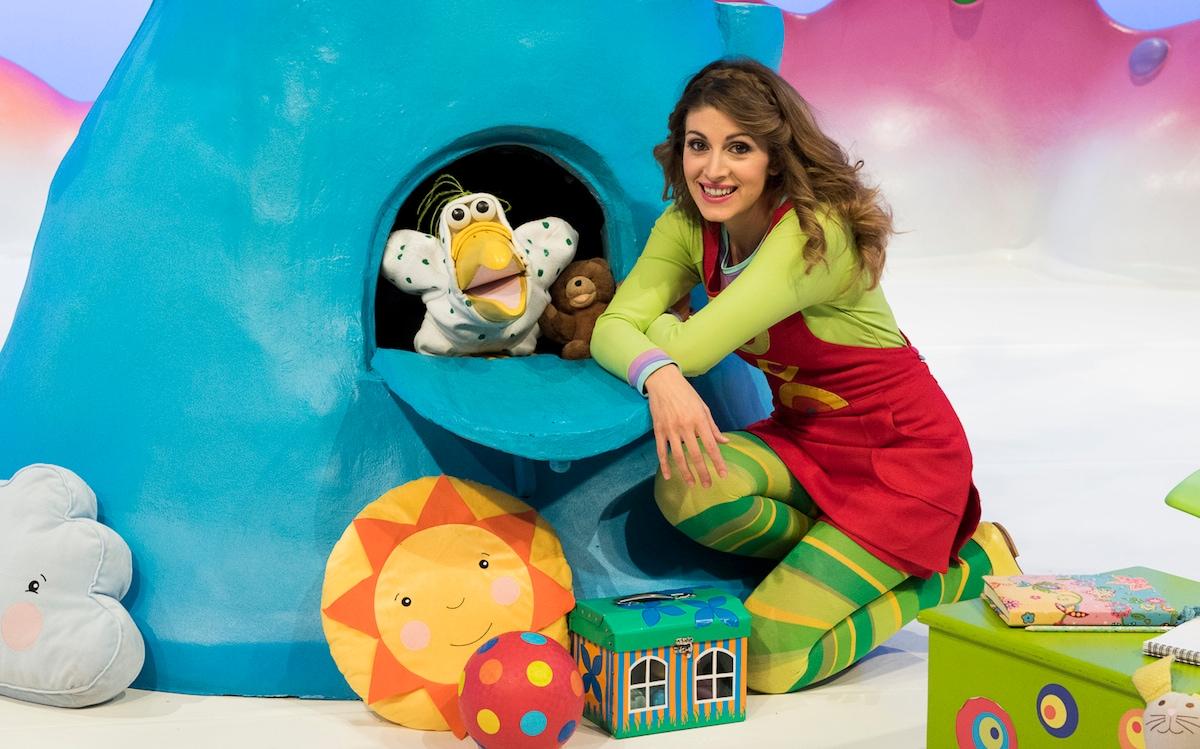 Laura carusino e «lalbero azzurro»: lintervista tv sorrisi e canzoni