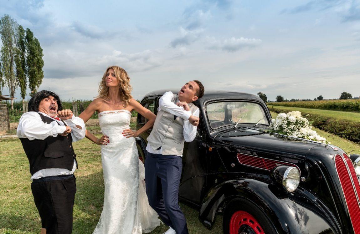 Il matrimonio di Angelo Pintus: «Così ho detto di sì alla mia