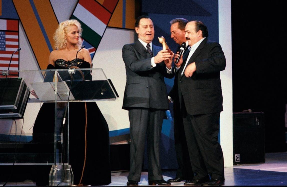 La storia dei Telegatti: gli ospiti e i vincitori italiani