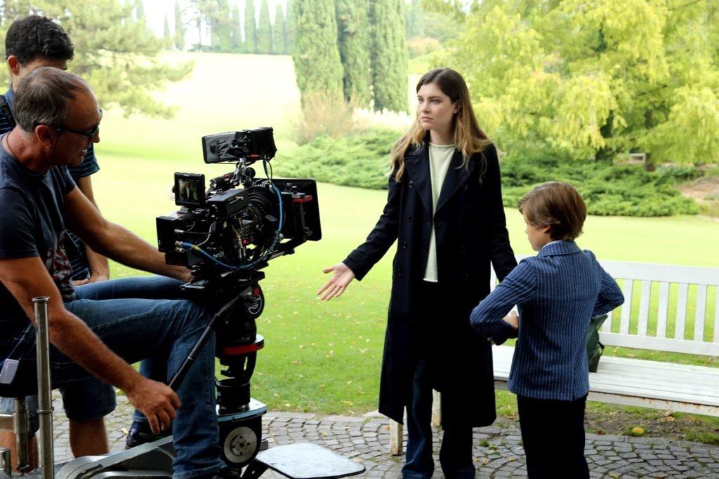"""""""Mentre Ero Via"""": Vittoria Puccini E Giuseppe Zeno Sul Set"""