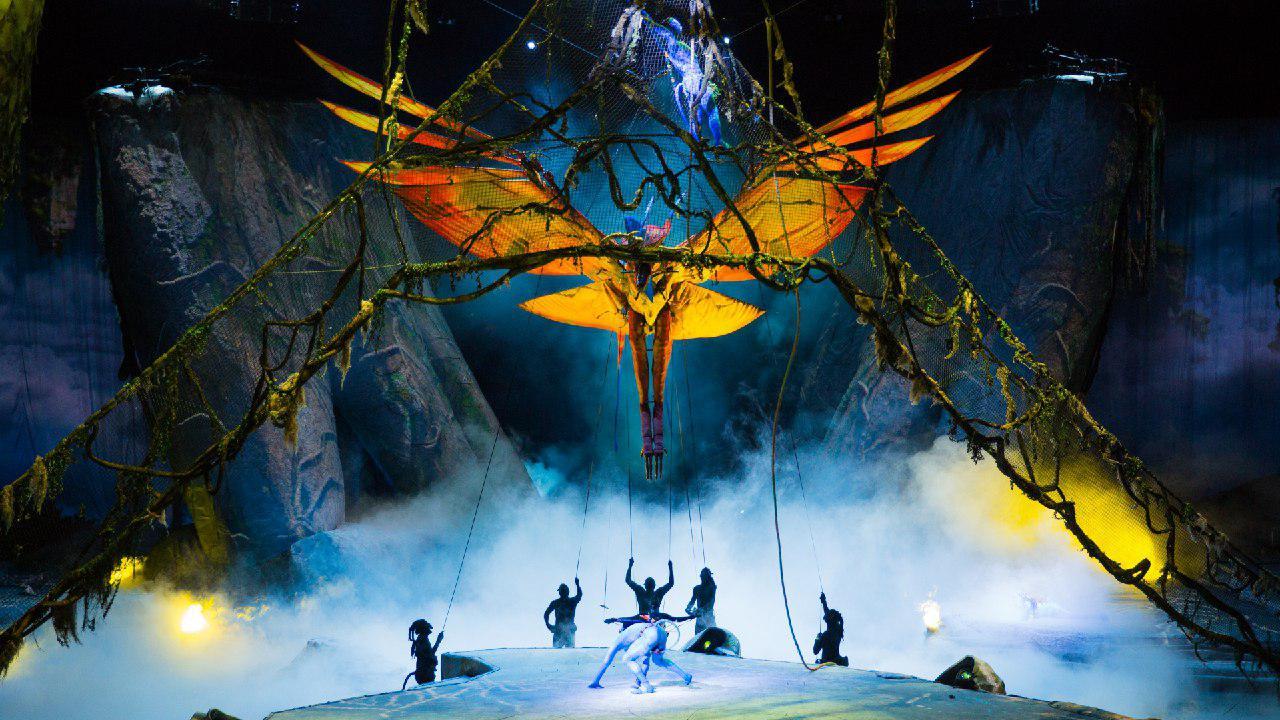 cirque du soleil italiano  Toruk»: lo show ispirato a «Avatar» del Cirque Du Soleil. Il dietro ...