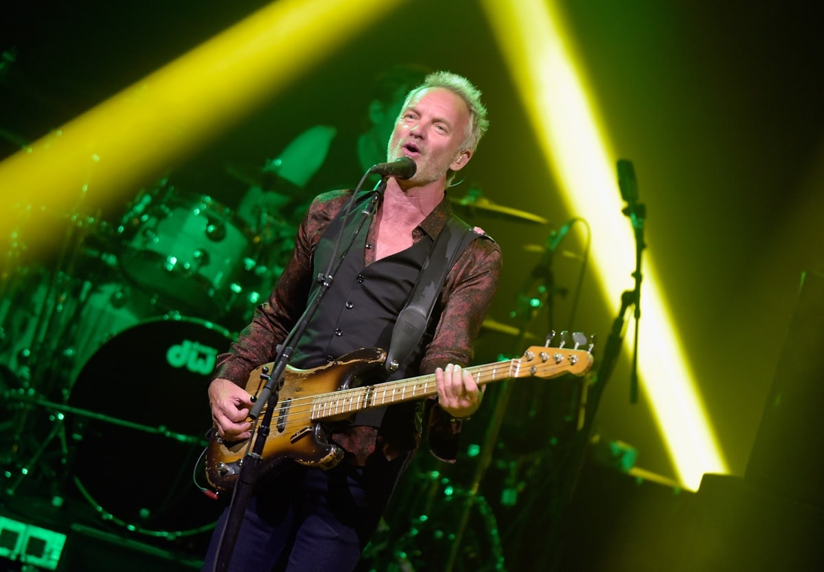 """Le hit di Sting cambiano pelle in """"My songs"""""""